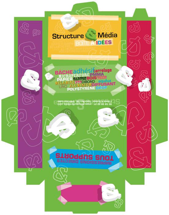 La boîte à idées de Structures & Media