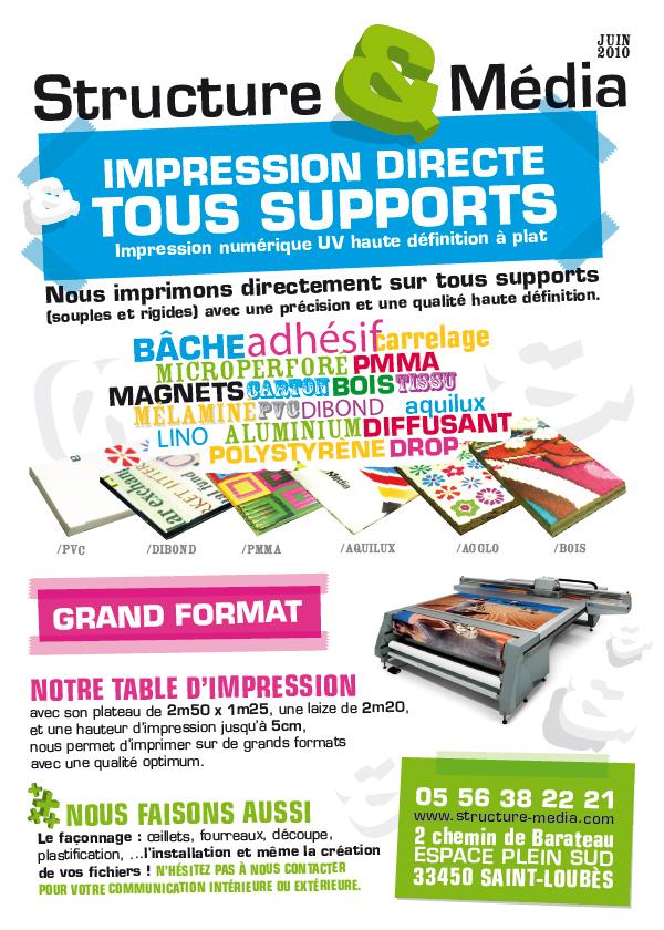Flyer Structures & Media