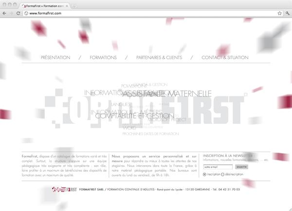 Site Internet FormaFirst