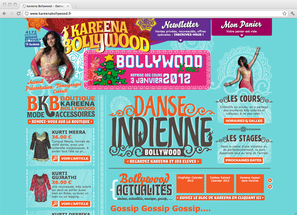 Site Internet Kareena Bollywood