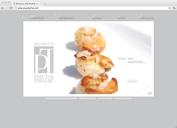 Site Internet de Piaud&Taillac