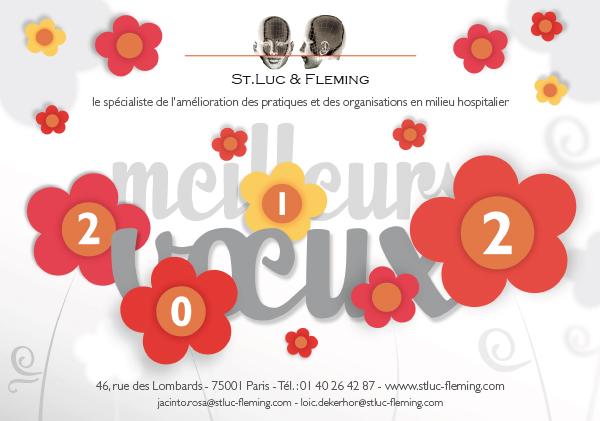 Carte de vœux 2012 St Luc & Fleming