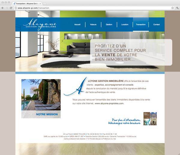Site Alcyone Gestion Immobilière